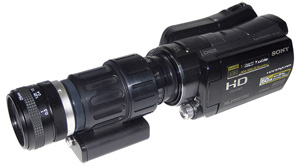 Night Vision Module for camcorders