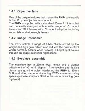 Night Vision PNP Operators Manual